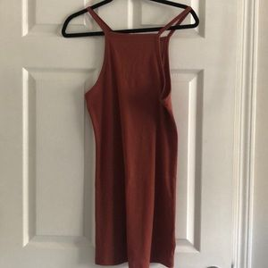 Stretchy ribbed dress